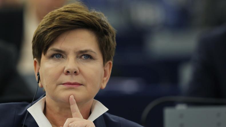 Polens neue Ministerpräsidentin Beata Szydło (PiS)