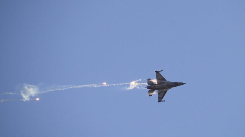 Israelische Luftschläge auf Gaza nach Abschuss einer Rakete auf Südisrael