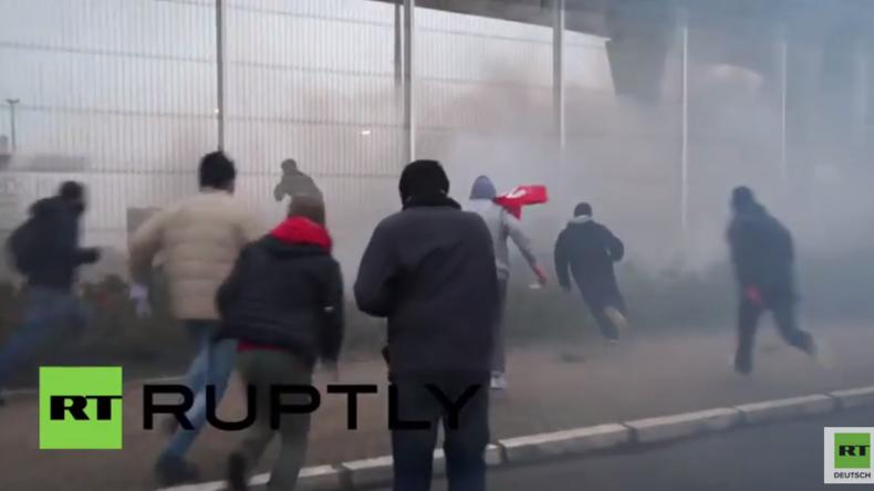 Frankreich: Flüchtlinge stürmen Calais-Fähre - 24 Verhaftungen