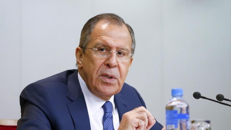 Lawrow: Politik der Eindämmung Russlands hält an - Höchste Zeit damit aufzuhören
