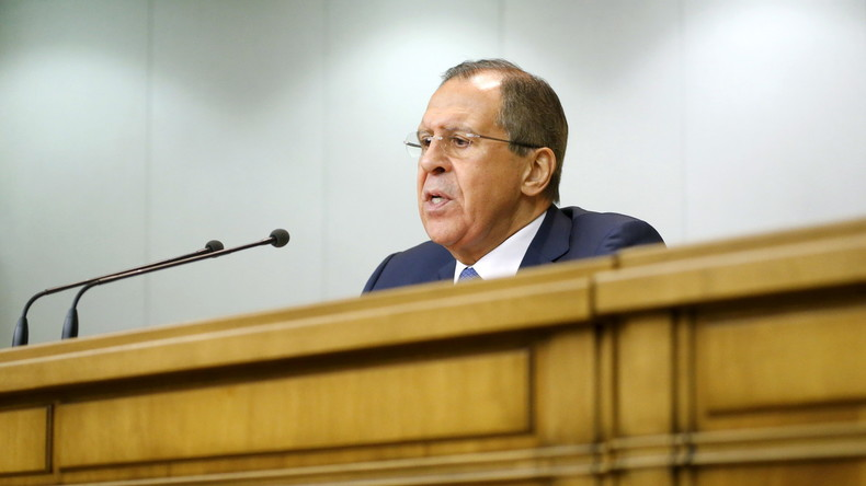 Lawrow zu Syrien: Wir haben gezeigt, wer gegen Terroristen kämpft und wer sie für eigene Ziele nutzt