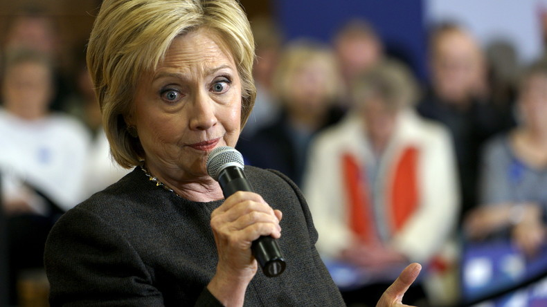 Hillary Clinton: Schallendes Lachen auf die Frage, wann sie ihre Goldman Sachs-Reden veröffentlicht