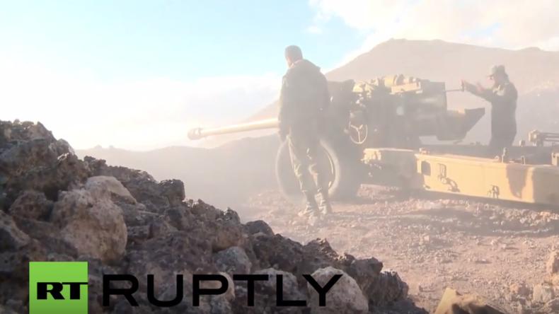 Syrischer Soldat: Die Al-Nusra-Front benutzt Zivilisten als menschliche Schutzschilde