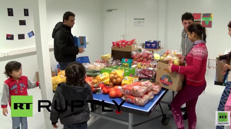 Berlin: Hunger in Flüchtlingsheimen - Nachbarn und Aktivisten spenden Lebensmittel