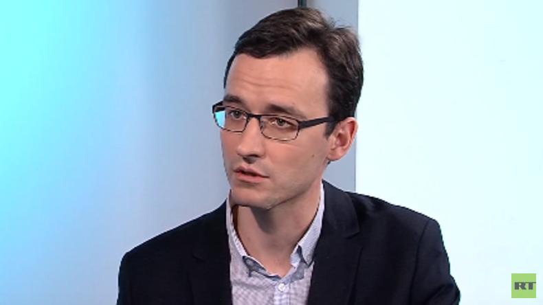 """Iwan Blagoij, russischer Journalisten von Pervij Kanal brachte den """"Fall Lisa"""" an die Öffentlichkeit"""