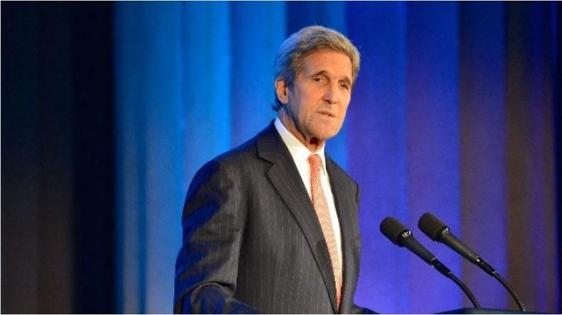 Live:  John Kerry über Pressefreiheit bei Eröffnung der Washington Post Zentrale