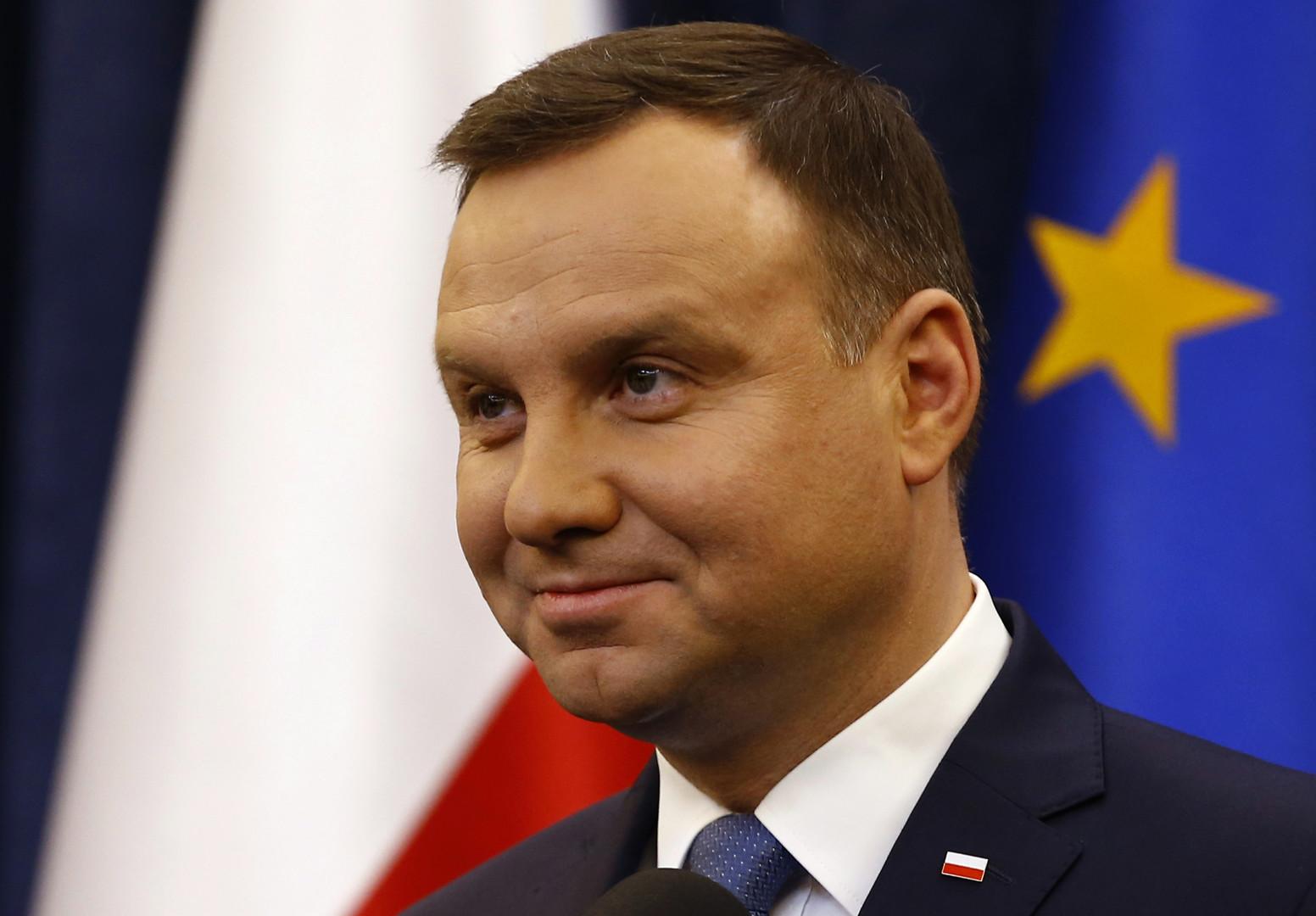 Polens Präsident Andrzej Duda (PiS)