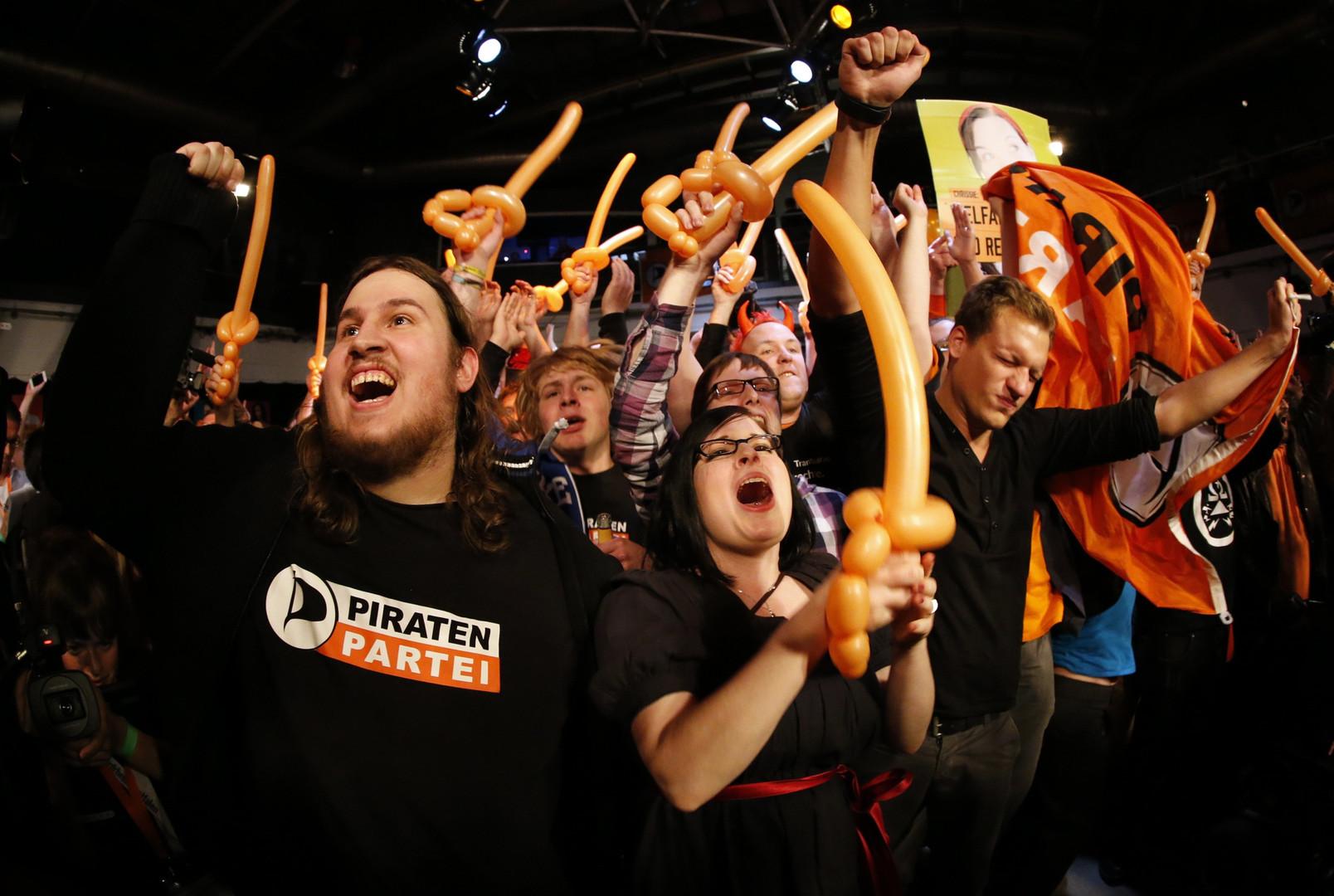 Ein Bild aus besseren Tagen - Die Piratenpartei 2012