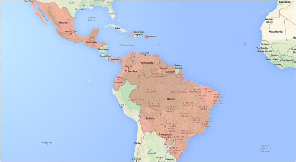 Länder mit einer Reisewarnung der US-amerikanischen Seuchenschutzbehörde