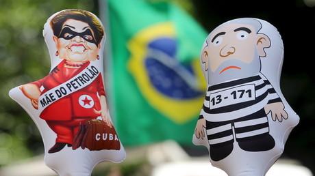 Anti-Regierungsproteste in Brasilien
