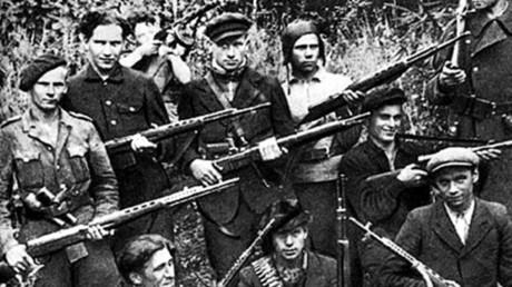 Ukrainische Partisanen in der Westukraine von 1945 bis 1951