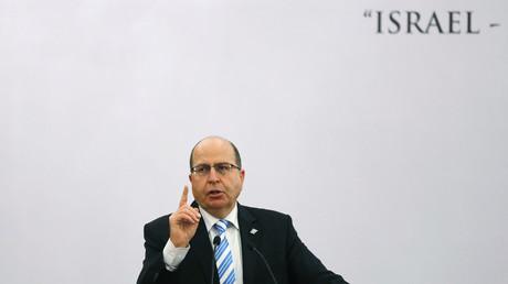Der israelischen Verteidigungsminister Moshe Yaalon