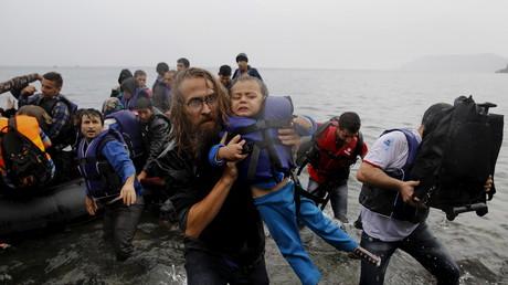 Überfüllte Schlauchboote bringen die Flüchtlinge immer wieder in Gefahr