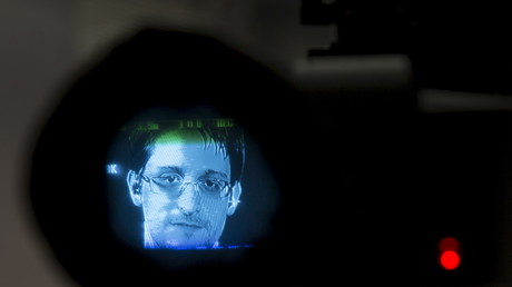 Die westlichen Metropolen erreicht der Whistleblower Edward Snowden derzeit nur per Video-Schalte