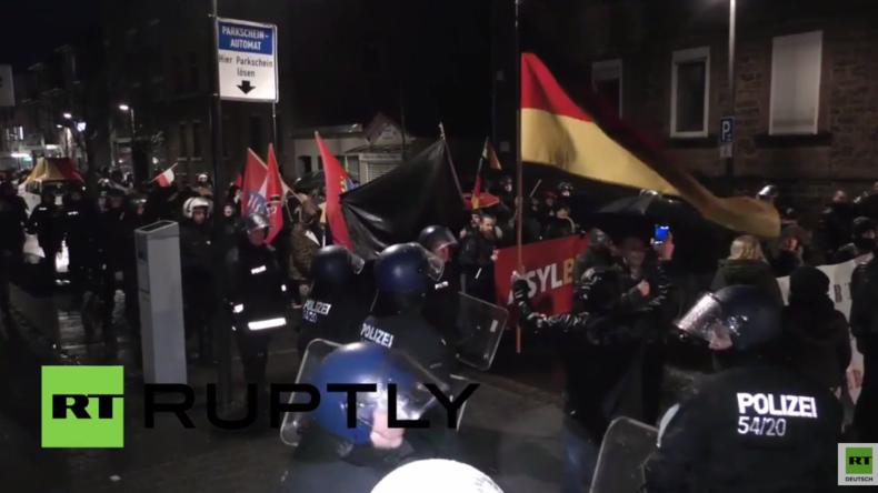 Büdingen: Rechte Kundgebung gegen Flüchtlinge am Jahrestag von Hitlers Machtergreifung