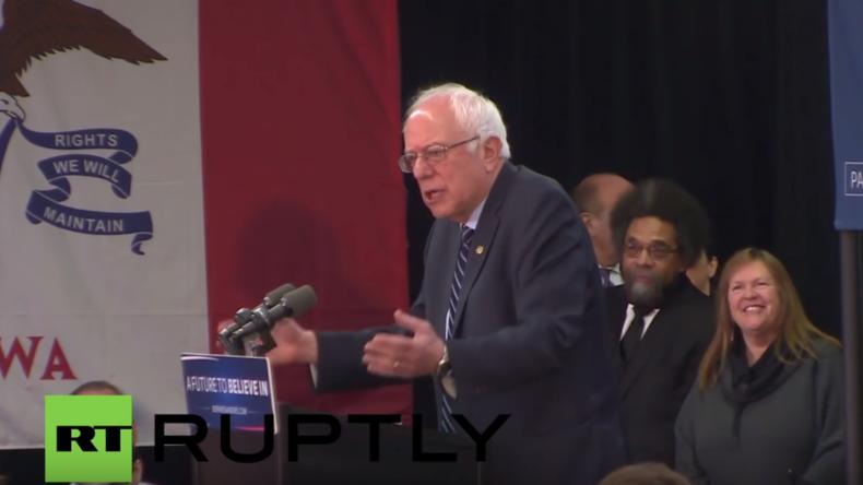 """USA: Cornel West für Sanders: """"H. Clinton nimmt Wallstreetgeld und meint es hätte keinen Einfluss"""""""