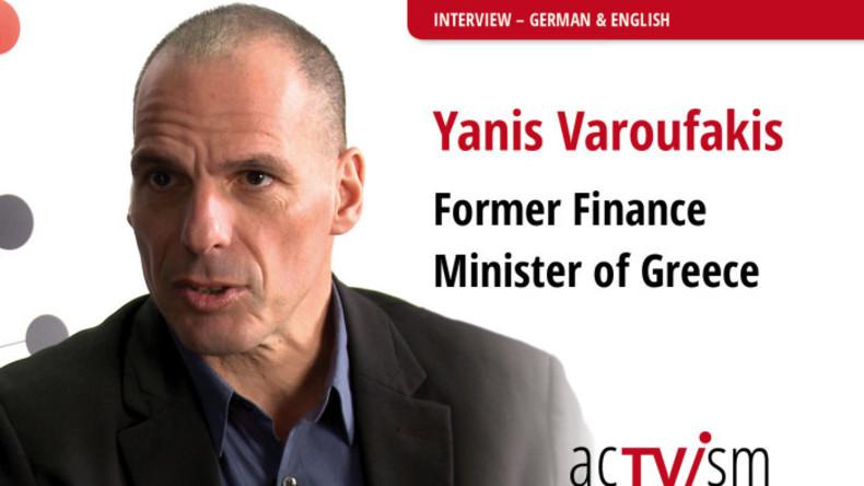 """Yanis Varoufakis: """"Wir haben eine globale Krise"""""""