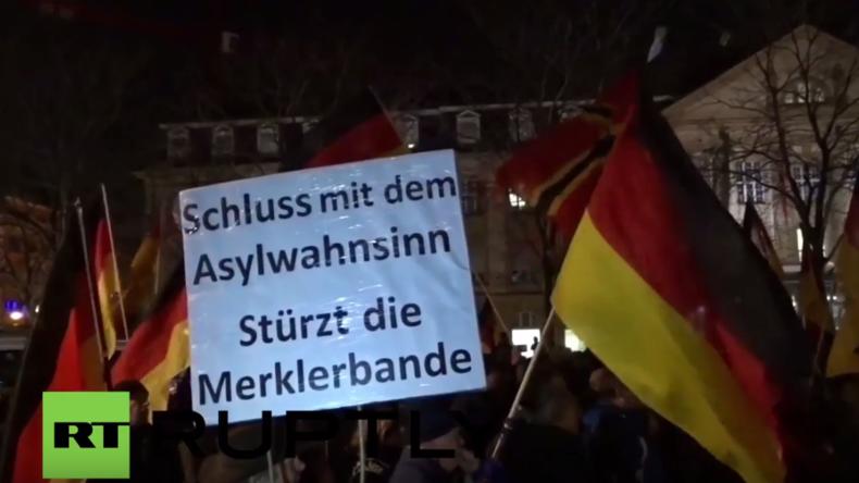 Karlsruhe: Spannungen zwischen Rechten und Antifa-Anhängern – Ein Polizist verletzt