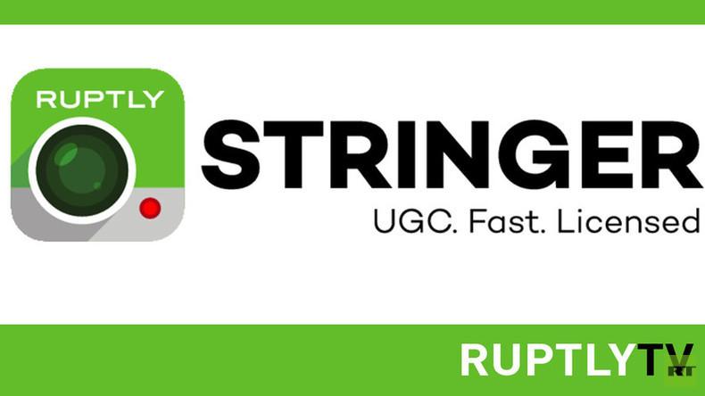 """Ruptly startet Bürger-Journalismus der nächsten Generation mit der App """"Ruptly Stringer"""""""