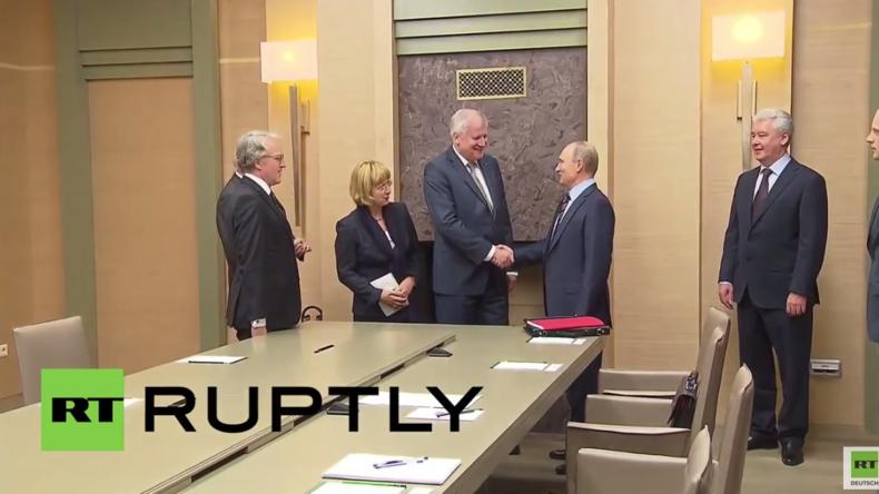 Seehofer zu Putin: Wir sind für eine Lösung miteinander und nicht im Konflikt
