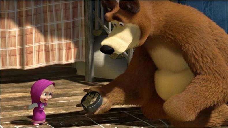 """""""Mascha und der Bär"""" erobern die Welt - Milliarden Klicks für russische Trickfilmserie auf YouTube"""