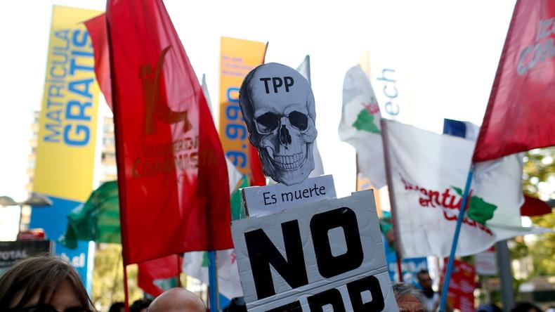 TTIPs transpazifischer Zwilling TPP unterzeichnet - Gegner kündigen weltweit Proteste an