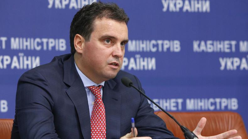 """Ukrainischer Wirtschaftsminister: """"Ich lehne es ab, innerhalb eines solchen Systems zu arbeiten"""""""
