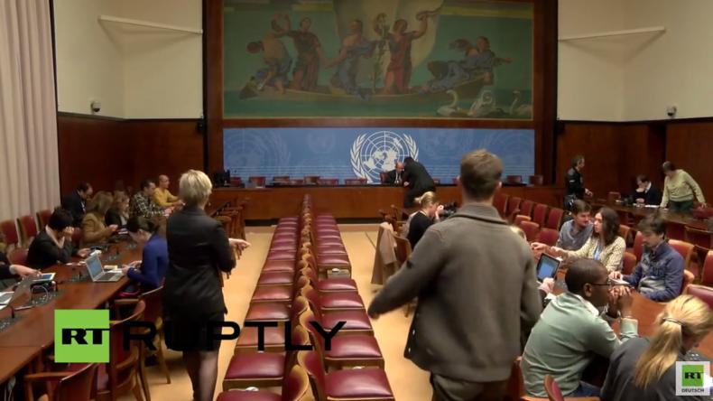 Live: UN-Pressekonferenz zum Urteil zu Julian Assange