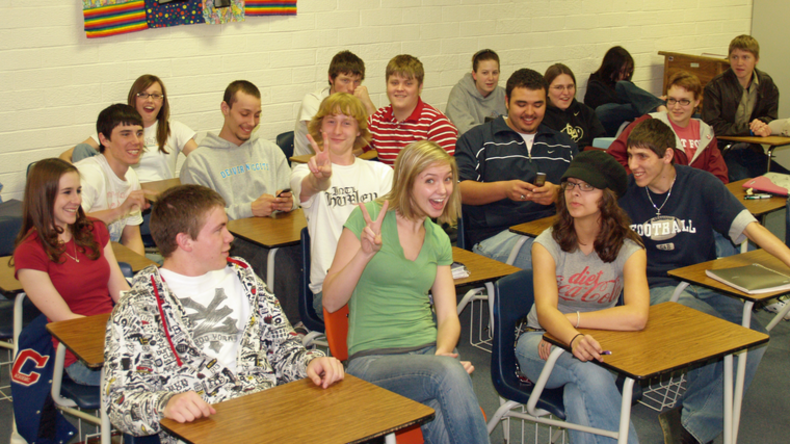 Schüler an einer US-amerikanischen Highschool. Foto: David Shankbone. CC BY-SA 3.0