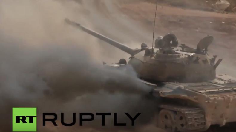 Syrien: Syrisch Arabische Armee verzeichnet neue Erfolge und große Gebietseroberungen in Daraa