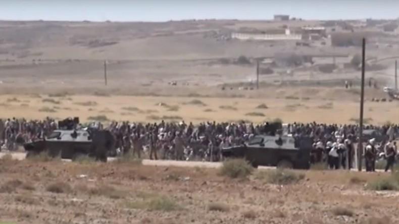Live von der syrisch-türkischen Grenze - Tausende Flüchtlinge erwartet