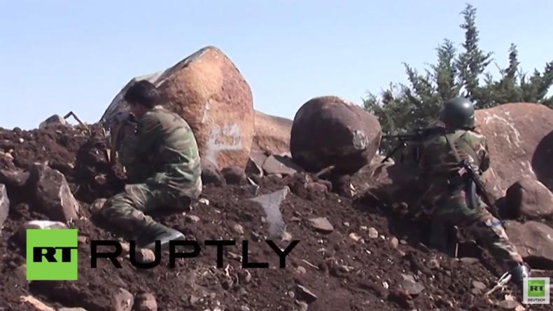 """Kampf um Aleppo: """"Versorgungswege aus Türkei abgeschnitten"""" - Syrisch Arabische Armee"""