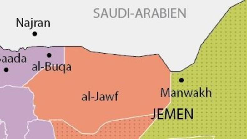 Grafik des Tages: Saudische Invasion im Jemen deckt sich fast 1:1 mit Al-Qaida Einfluss-Zone