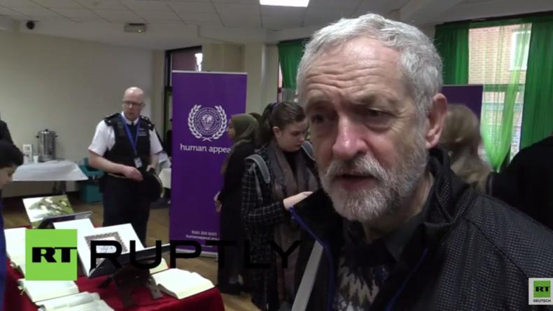 Corbyn zu Pegida: In was für einer Welt wollen wir leben? In einer Welt aus Hass und Misstrauen?