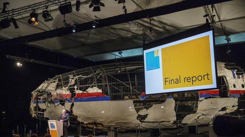 Brief des Vize-Chefs der russischen Luftfahrtagentur an die Angehörigen der Opfer von MH17