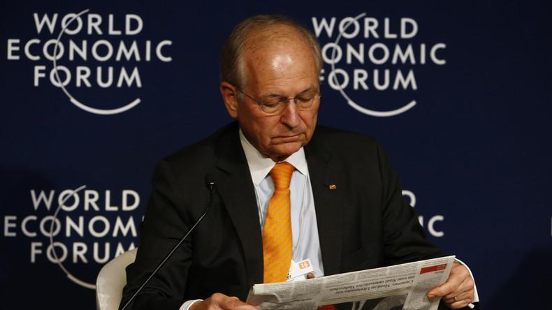 Wolfgang Ischinger beim Weltwirtschaftsforum von Davos, wo seine neueste Idee sicher auf viel Zustimmung stößt
