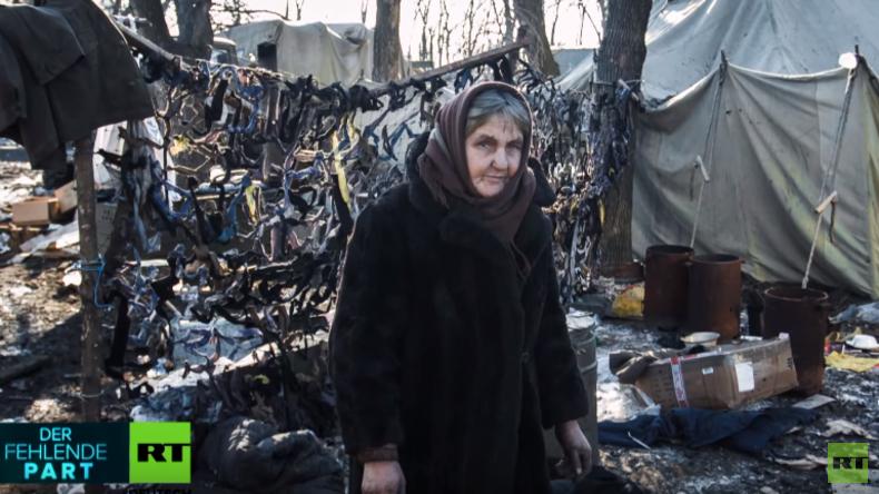 """Fotoausstellung in Berlin: """"Die Tränen des Donbass"""""""