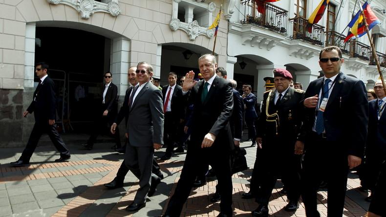 Staatsbesuche mit Schlägertrupp: Erdogans Werben um Südamerika – Rückblick auf ein Fiasko