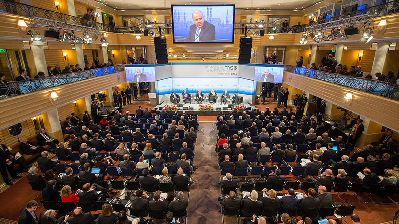 Teilnehmer auf der 50. Münchner Sicherheitskonferenz. Foto: Mueller / CC BY 3.0 de