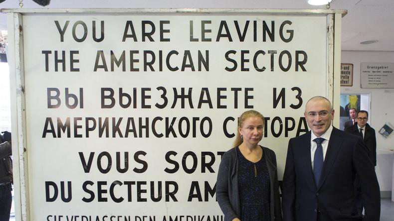 Interpol: Chodorkowski wird zur internationalen Fahndung ausgeschrieben