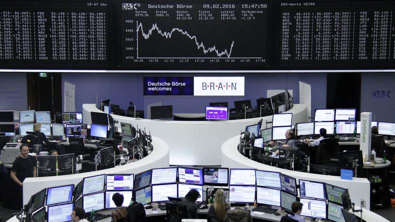 Krisenstimmung am deutschen Aktienmarkt: Dax bricht am Donnerstag erneut ein