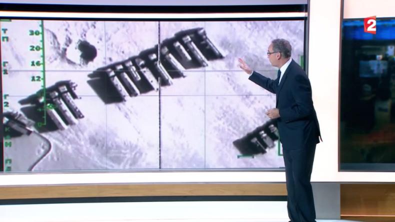 Französisches Staatsfernsehen präsentiert russische Aufnahmen als Erfolge der US-Koalition in Syrien
