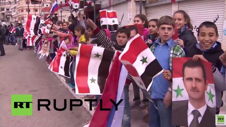 Syrien: Bewohner von Kessab nahe der türkischen Grenze erhalten humanitäre Hilfe