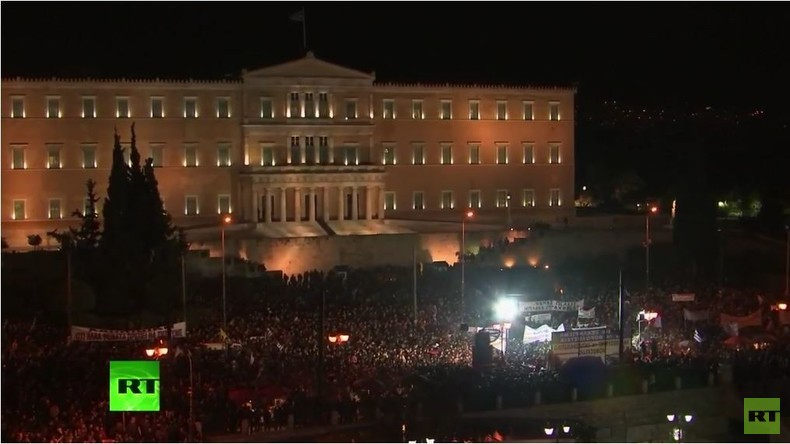 Live: Griechische Landwirte demonstrieren in Athen gegen Sparmaßnahmen