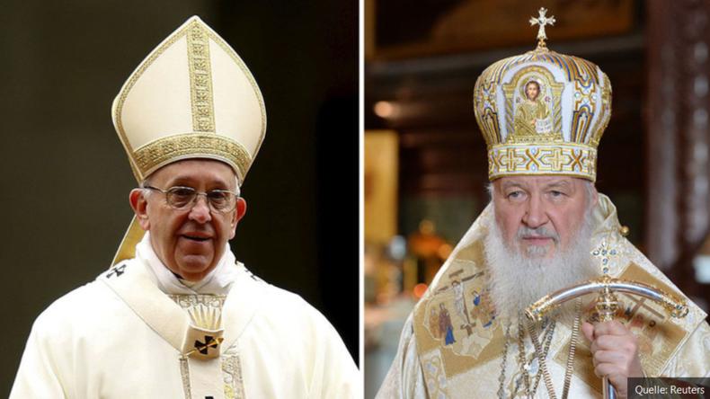 Live: Historisches Treffen - Papst Franziskus trifft in Havanna auf Patriarch Kirill