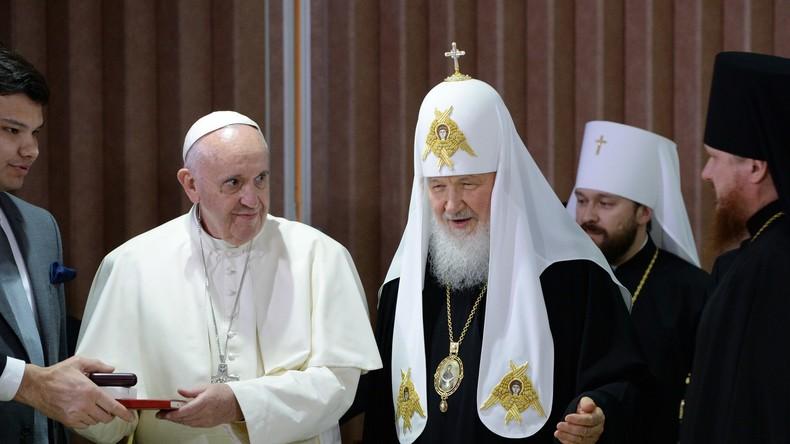 """""""Gegen den Strom schwimmen"""": Historisches Treffen der Kirchenoberhäupter in Kuba"""