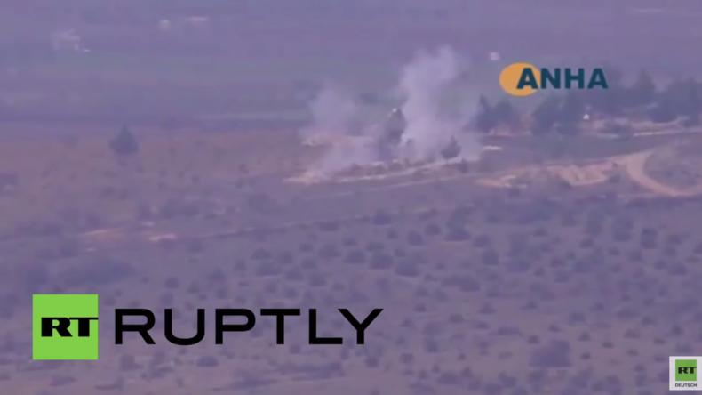 """Syrien: """"Direkte Unterstützung für Terroristen"""" - Türkei bombardiert Kurden im Gouvernement Aleppo"""