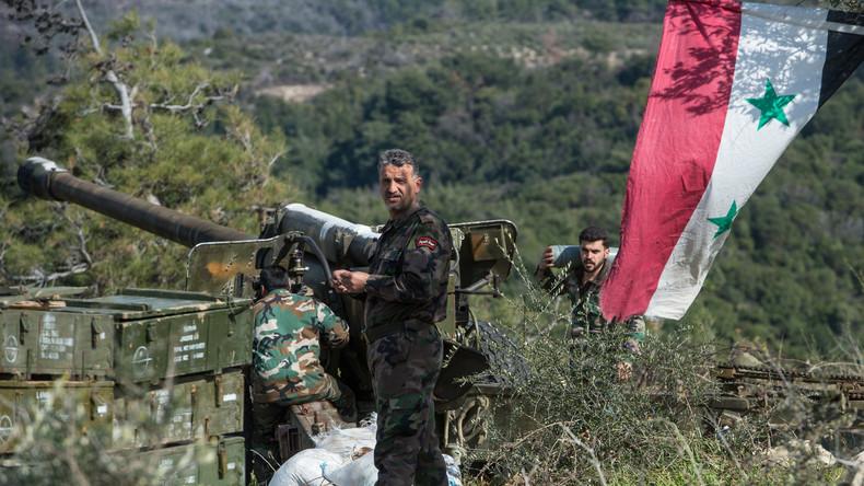 Syrische Armee rückt gegen IS-Hochburg Rakka vor