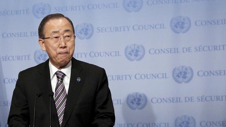 UN rügen Financial Times: Ban Ki-moons Aussagen zu Syrien und Russland falsch wiedergegeben
