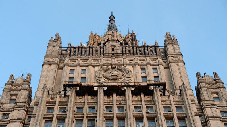 """Russlands Außenministerium: """"Die Türkei unterstützt offen den internationalen Terrorismus in Syrien"""""""